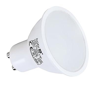 LED reflector bombilla GU10 1 W LED foco blanco cálido PACK OF 15: Amazon.es: Iluminación