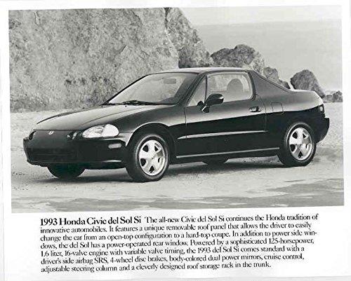 Amazon.com: 1993 Honda Civic Del Sol Si Automobile Photo ...