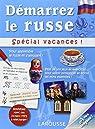Démarrez le russe, spécial vacances par Larousse