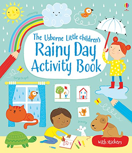 Little Children's Rainy Day Activity Book