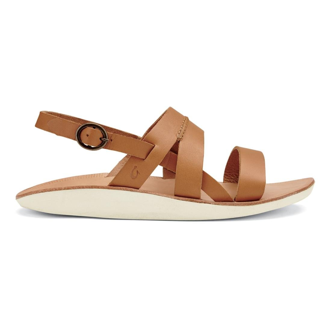 OLUKAI Womens Loea Sandal B010EAKUBO 6 B(M) US|Mustard/Bone