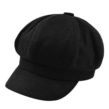 Sombrero De Moda De Mujer Sombrero De Invierno De Otoño Gorras ...