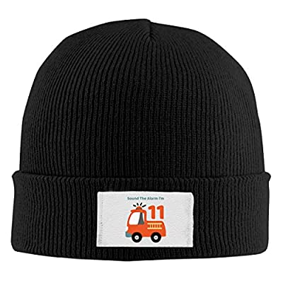 Red-Christ Unisex Sound The Alarm I'm 11! Fashion Warmth Four Colors Beanie Hats Skull Cap