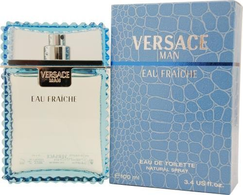 Versace Man Eau Fraiche By Gianni Versace For Men Edt Spray 1.7 Oz by VERSACE MAN EAU FRAICHE BEAUTY