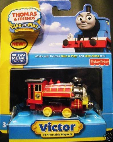 Thomas the Tank Engine Take N Play Victor Take Along - Tank The Lady Thomas Engine