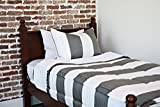 Beddy's Game On Gray Zippered Bed Set (Bedding Mattress Cover, Sheets and Zipper Comforter All in One Set) (Twin)