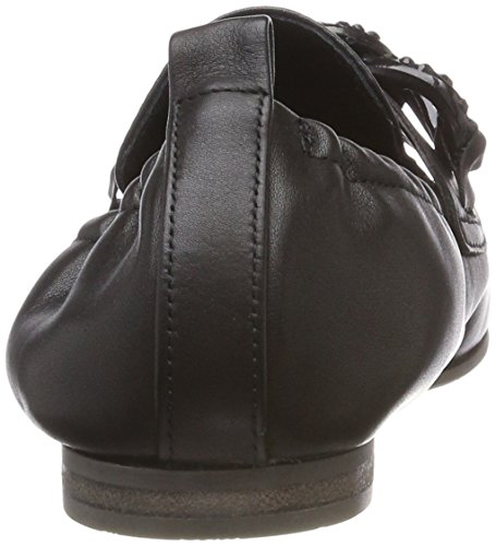 para Negro und Schwarz Kennel Black Cerrada Bailarinas Mujer con Schmenger Tara 230 Punta 0ffwpz