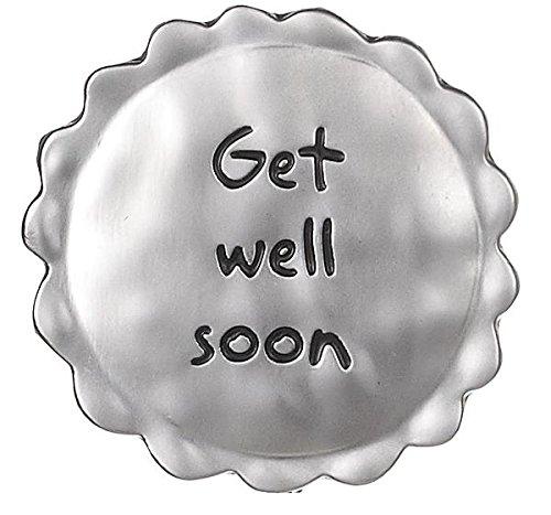 Well Get Charm (Ganz Lucky Little Ladybug Pocket Token - Get Well Soon)