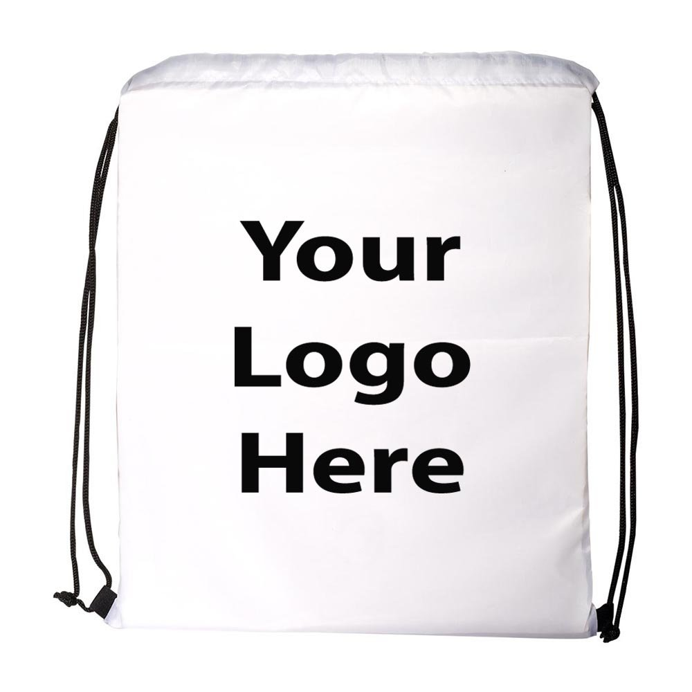 Ultra Light String A Sling Backpack - 150 Quantity - $1.65 Each - PROMOTIONAL PRODUCT / BULK / Branded with YOUR LOGO / CUSTOMIZED by Sunrise Identity