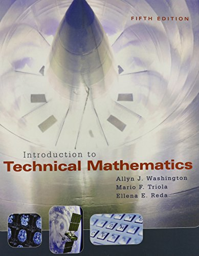 Introduction to Technical Mathematics with MyLab Math Student Access Kit (5th Edition)