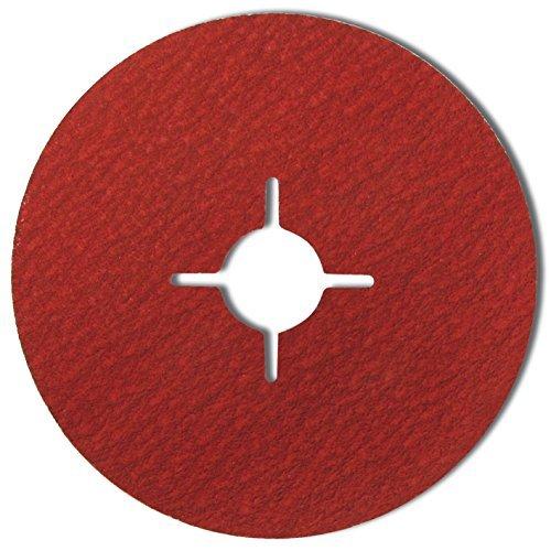 180mm Sanding discs for angle grinders. P60 Longlasting ceramic abrasive. Price per 25 St. Gobain