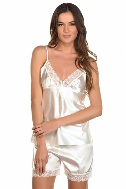 Just For Victoria - Conjunto de lencería - para mujer blanco L