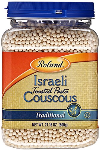 Roland Israeli Couscous, Traditional, 21.16 Ounce (Pack of 4) (Israeli Toasted Pasta)