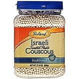 Roland Israeli Couscous, 21.16-Ounce Plastic Jars (Pack of 4)