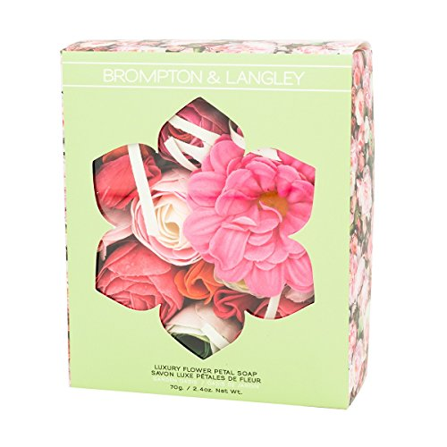 Brompton & Langley Colors of Beauty Flower Petal Soap Gift Boxed ()