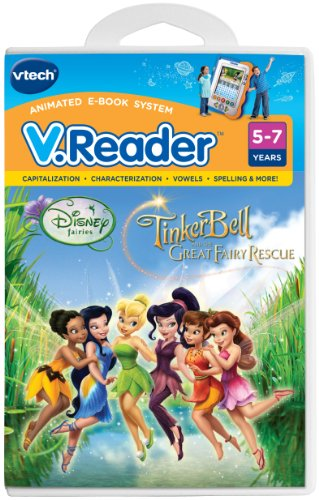 VTech - V.Reader Software - Disney's Fairies - Tinkerbell and The Great Fairy Rescue (Tinkerbell And The Great Fairy Rescue Characters)