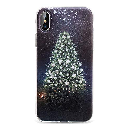 Christmas Phone Case iPhone X 8 7 6S 6 Plus XS Max 5S SE 2019 Year Cases iPhone 6 6S 7 8 Plus 10 Accessories,Christmas Tree 2 iPhone 6 6S