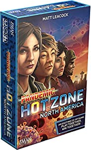 Pandemic Hot Zone: North America - A standalone cooperative game by Z-Man Games | 2 to 4 players | board game