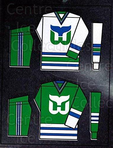 (CI) Hartford Whalers Hockey Card 1988-89 Panini Stickers 234 Hartford Whalers