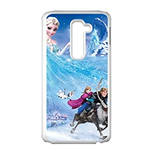 Frozen Princess Elsa Anna Kristoff Olaf Sven Cell Phone Case for LG G2
