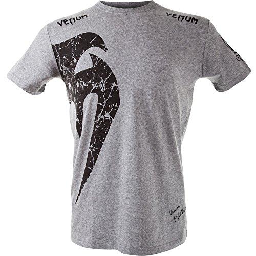 Venum Giant T-Shirt, Grey/Black, Medium
