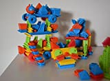 Building Blocks Set for Toddlers - Educational Toys for 2+ Years Old - 100 Pieces + 3 Bonus Figures