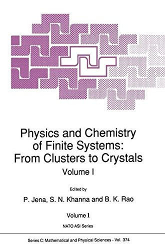 Physics and Chemistry of Finite Systems: From Clusters to Crystals (Nato Science Series C:)