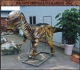 Pachycephalosaurus Fiberglass 16ft Life Size Dinosaur Statue (Jurassic Park)