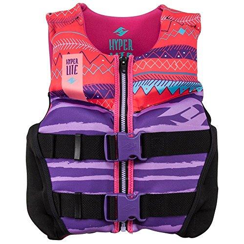 Hyperlite Girls Youth Indy Life Vest (Youth Neoprene Life Vest)