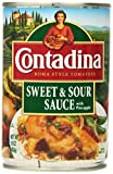 Contadina, Sweet & Sour Sauce with Pineapple, 16oz Can (Pack of 3)