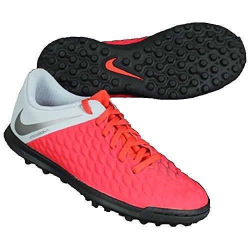 Multicolore 600 Grey Jr Enfant 3 NIKE Lt Dark Grey de Hypervenom Crimson Mixte Club Chaussures Futsal wolf Mtlc TF vqxRUwZx