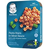 Gerber Pasta Stars in Meat Sauce and a side of
