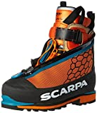 Scarpa Phantom 6000 Mountaineering Boot, Black/Orange, 42 EU/9 M US