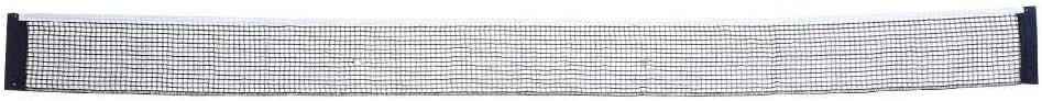 Dilwe Red de Tenis de Mesa Redes de Ping Pong Resistente a Desgaste Reemplazo de Tenis de Mesa para Uso de Competición Exterior 182 * 15CM