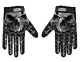 Lethal Threat GL15004M Men's Gloves (Skull Men Hand)(Black, Medium), 1 Pack