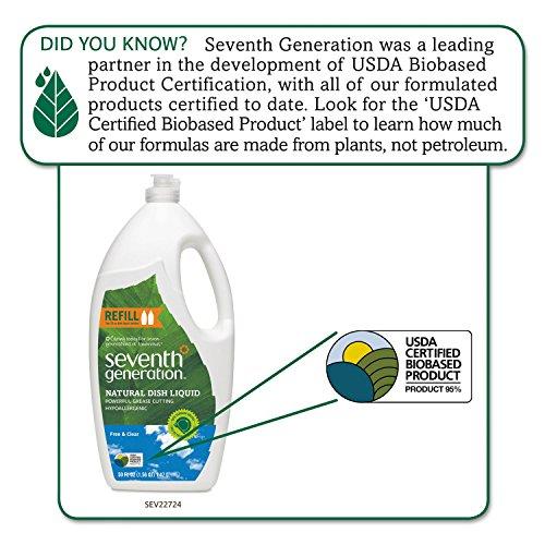 Buy seventh generation dish liquid 50oz