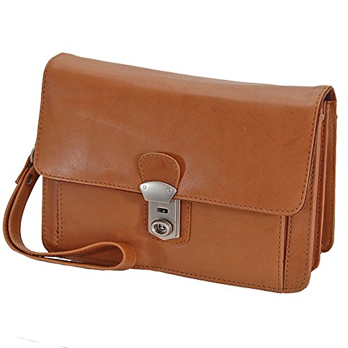 Natural Top Bag handle Men's Beige Gobago q7vRw6nA