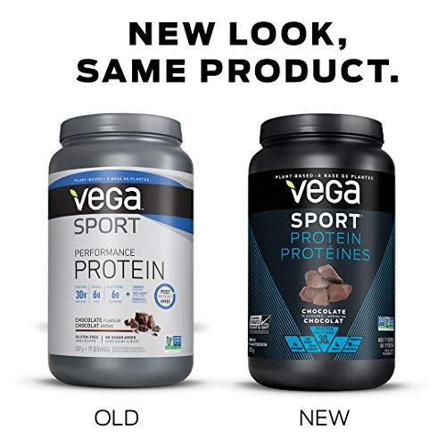 VEGA Sport Protein Chocolate Tub, 837 GR