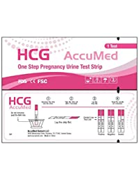 AccuMed 25-Count Pregnancy (HCG) Test Strips, Clear and Accurate Results, FDA Approved and Over 99% Accurate BOBEBE Online Baby Store From New York to Miami and Los Angeles