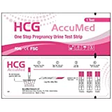 Amazon Price History for:AccuMed 25-Count Pregnancy (HCG) Test Strips, Clear and Accurate Results, FDA Approved and Over 99% Accurate