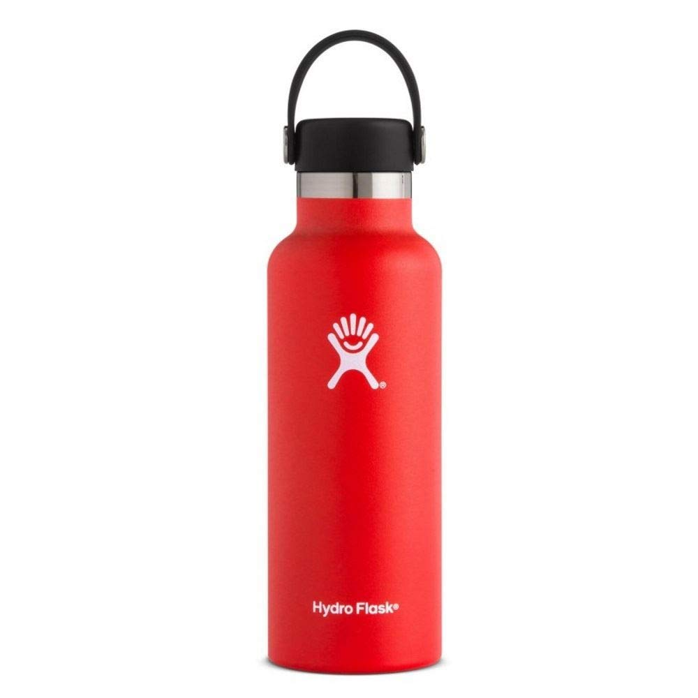 Hydro Flask, Standard Mouth Flex Cap Lava 18 Ounce by Hydro Flask