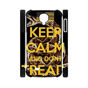 Canting_Good,Don't Tread On Me, Custom Dual-Protective Case for Samsung Galaxy S4 I9500 3D