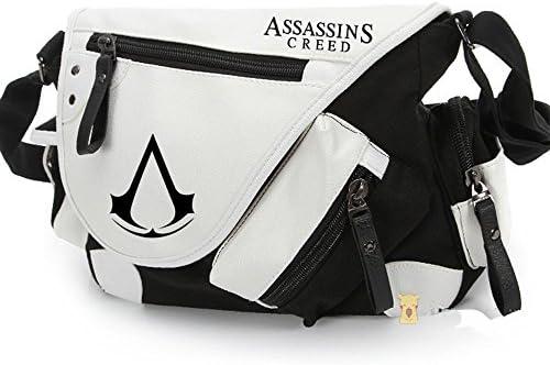 【HALLE】アサシン クリード 風 コスプレ道具 斜めがけショルダーバッグ 鞄 キャラクター アニメ  コスチューム 小物