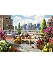 Ravensburger Rooftop Garden LGE Form Puzzle 500pc,Adult Puzzles