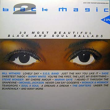 2:Sam Cooke, Nina Simone, Four Tops, Stevie Wonder, Marvin Gaye.. / Vinyl record : Black Magic: Amazon.es: Música