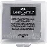 Borracha Artística Faber-Castell Maleável Cinza - Ref 127220