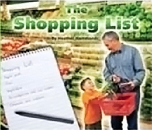 Read Online Rigby Flying Colors: Leveled Reader Bookroom Package Yellow The Shopping List pdf epub