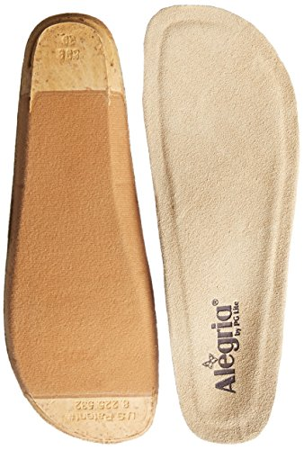 Alegria Women's Replacement Footbed Tan 39 M