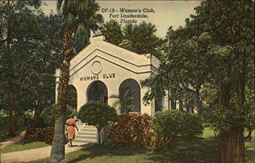 Woman's Club Fort Lauderdale, Florida Original Vintage - Women Fort Lauderdale