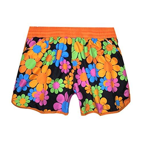 spiaggia da pantaloncini boh stampa floreale con e Pantaloncini FuweiEncore wzEqOp5p